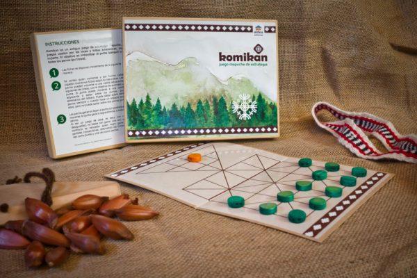 Komikan – juego mapuche de estrategia